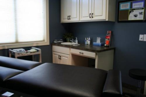 FOUR INDIVIDUAL TREATMENT ROOMS